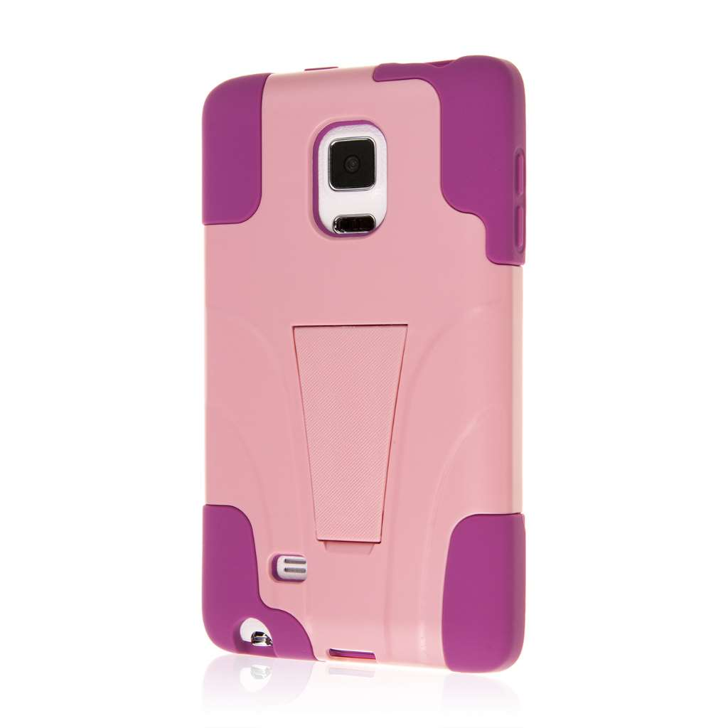 Samsung Galaxy Note Edge - Pink MPERO IMPACT X - Kickstand Case Cover