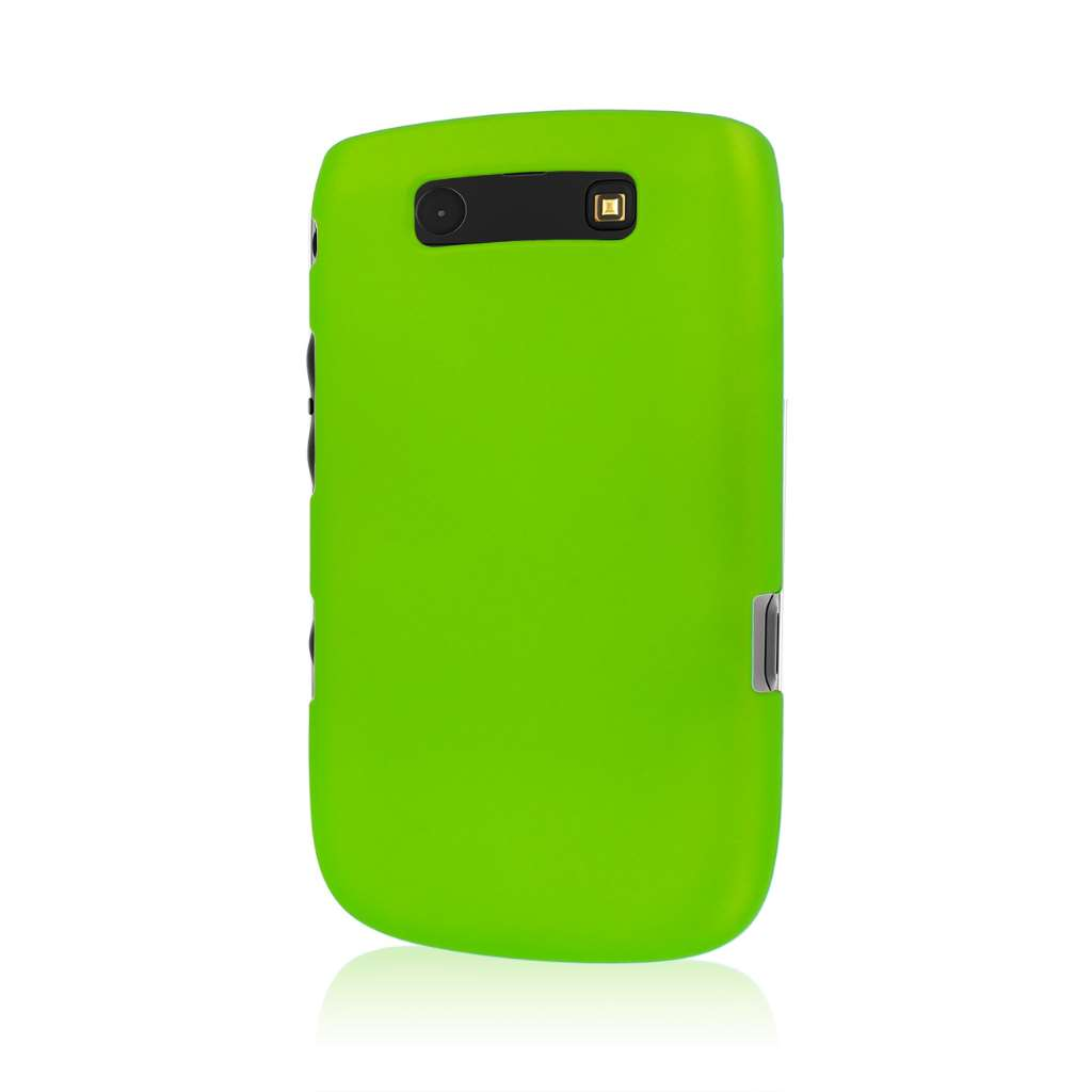 BlackBerry 9800 / 9810 - Neon Green MPERO SNAPZ - Case Cover