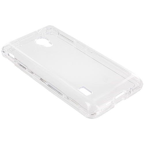 LG Lucid 2 VS870 Clear Crystal Transparent Hard Case Cover