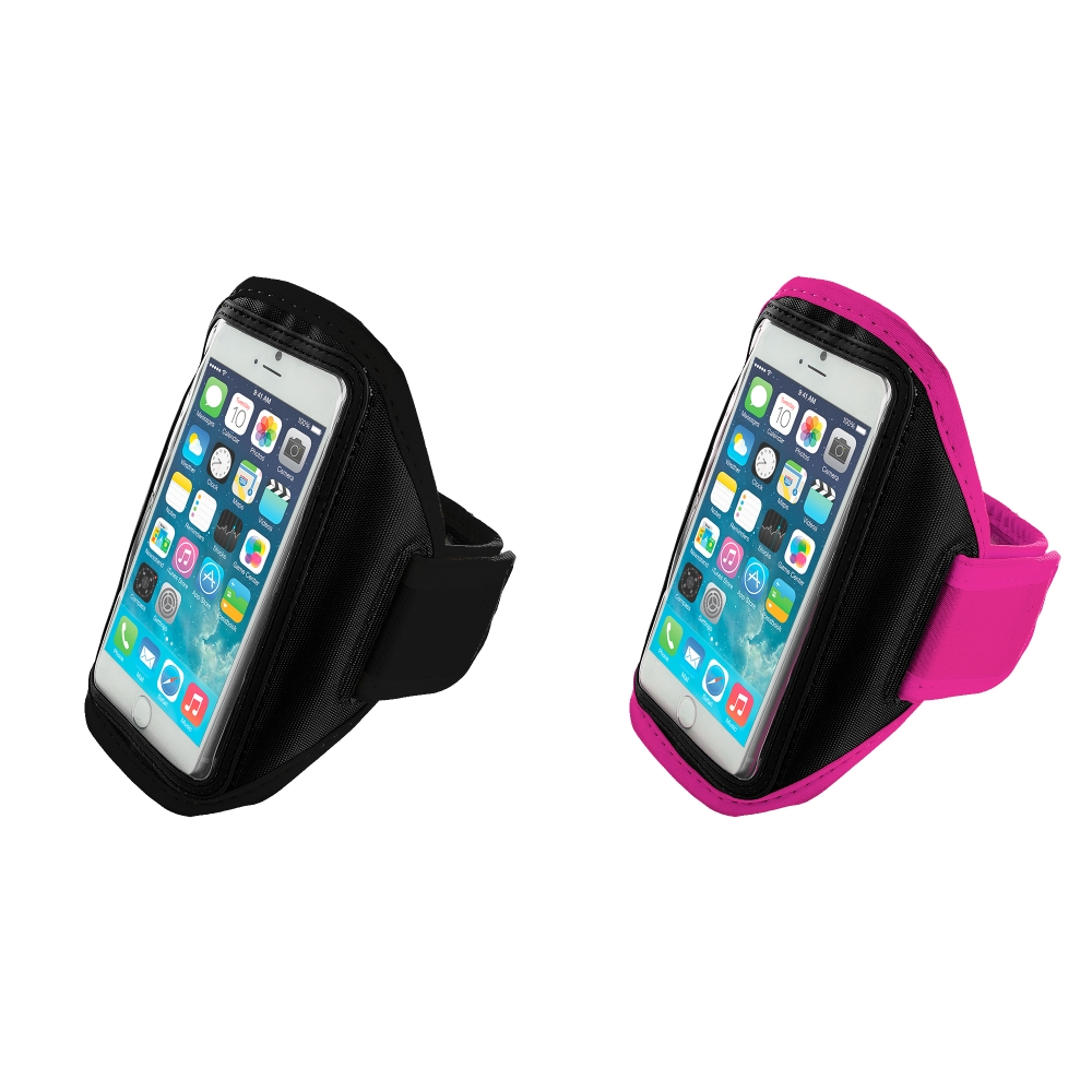 Apple iPhone 6 6S (4.7) 2 in 1 Combo Bundle Pack - Running Sports Gym Armband