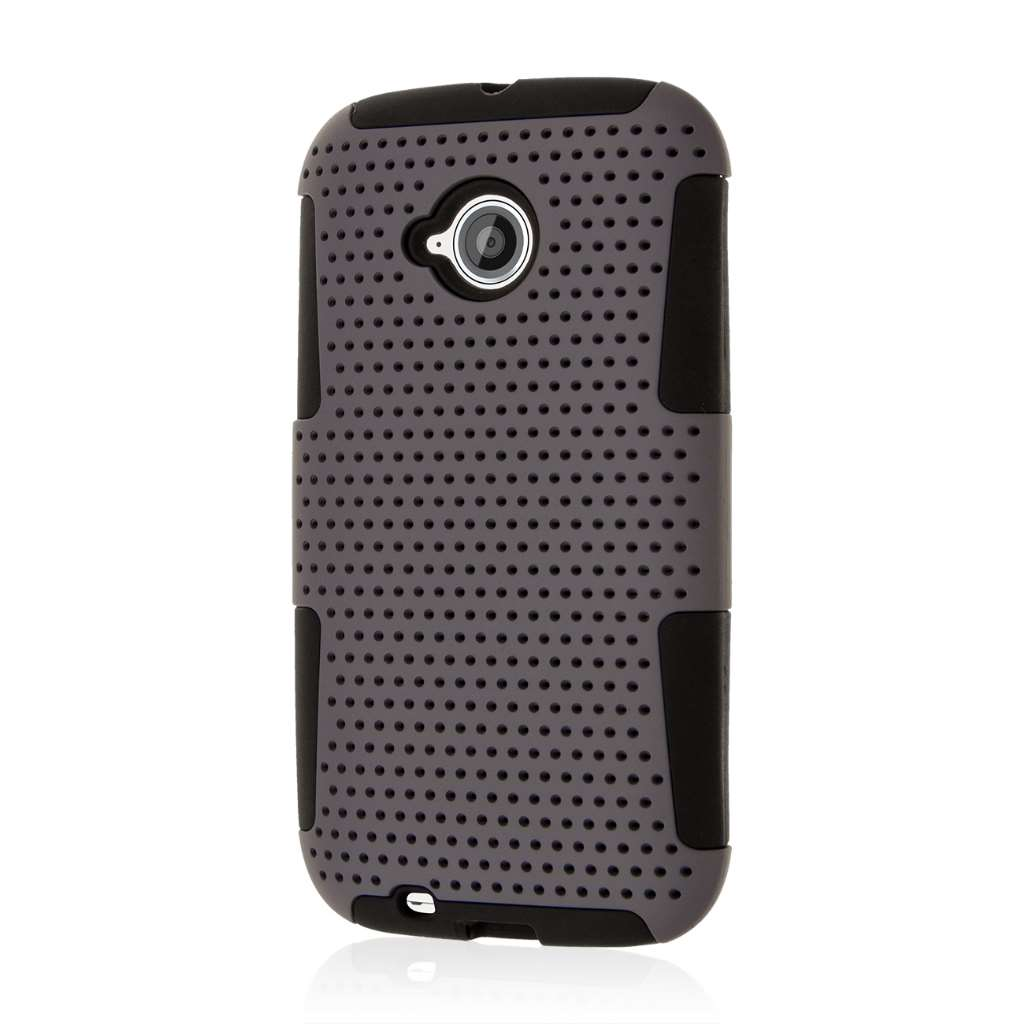Motorola Moto E 2nd Generation - Gray MPERO FUSION M - Protective Case Cover