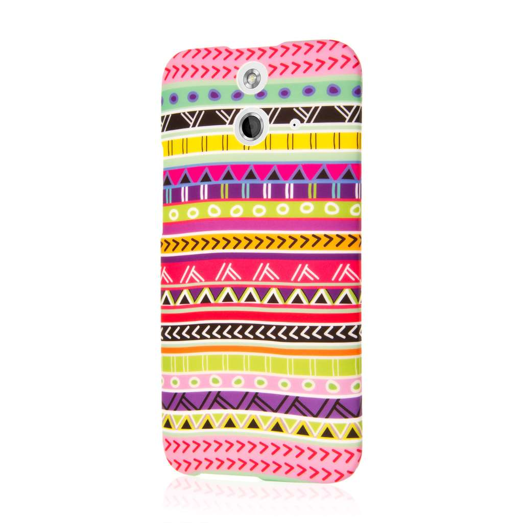 HTC One E8 - Aztec Fiesta MPERO SNAPZ - Case Cover