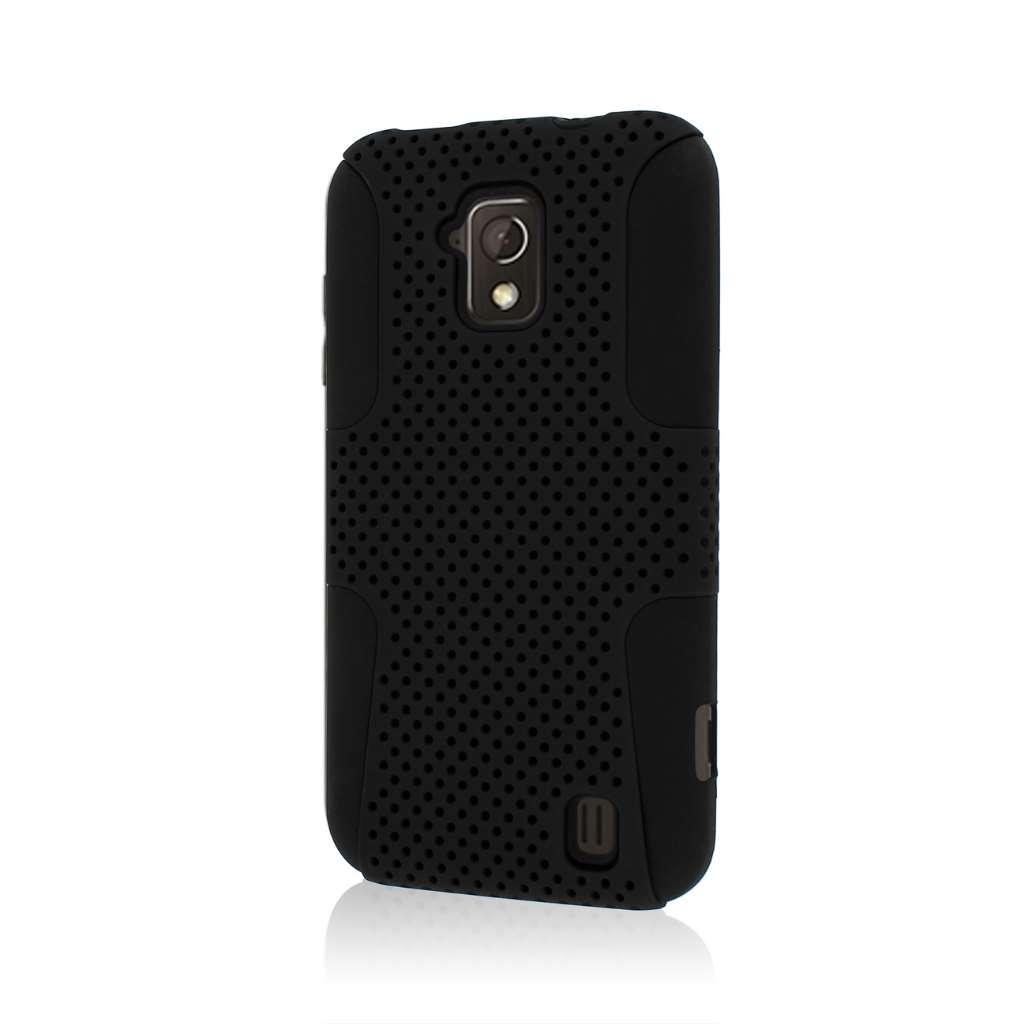 ZTE Solar - Black MPERO FUSION M - Protective Case Cover