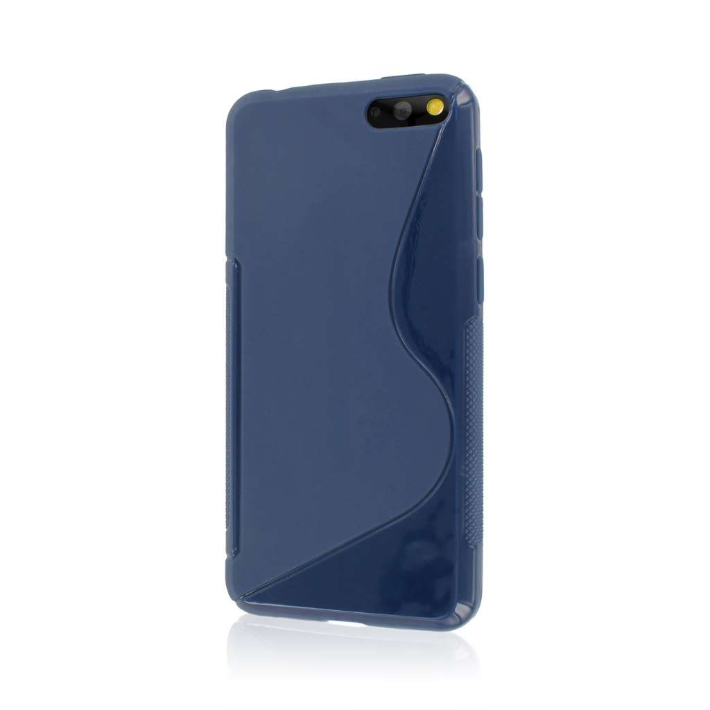 Amazon Fire Phone - Navy Blue MPERO FLEX S - Protective Case Cover