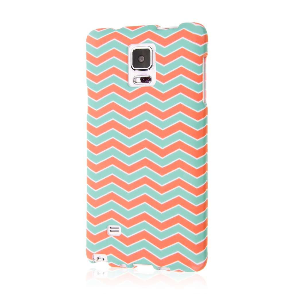 Samsung Galaxy Note 4 - Mint Chevron MPERO SNAPZ - Case Cover
