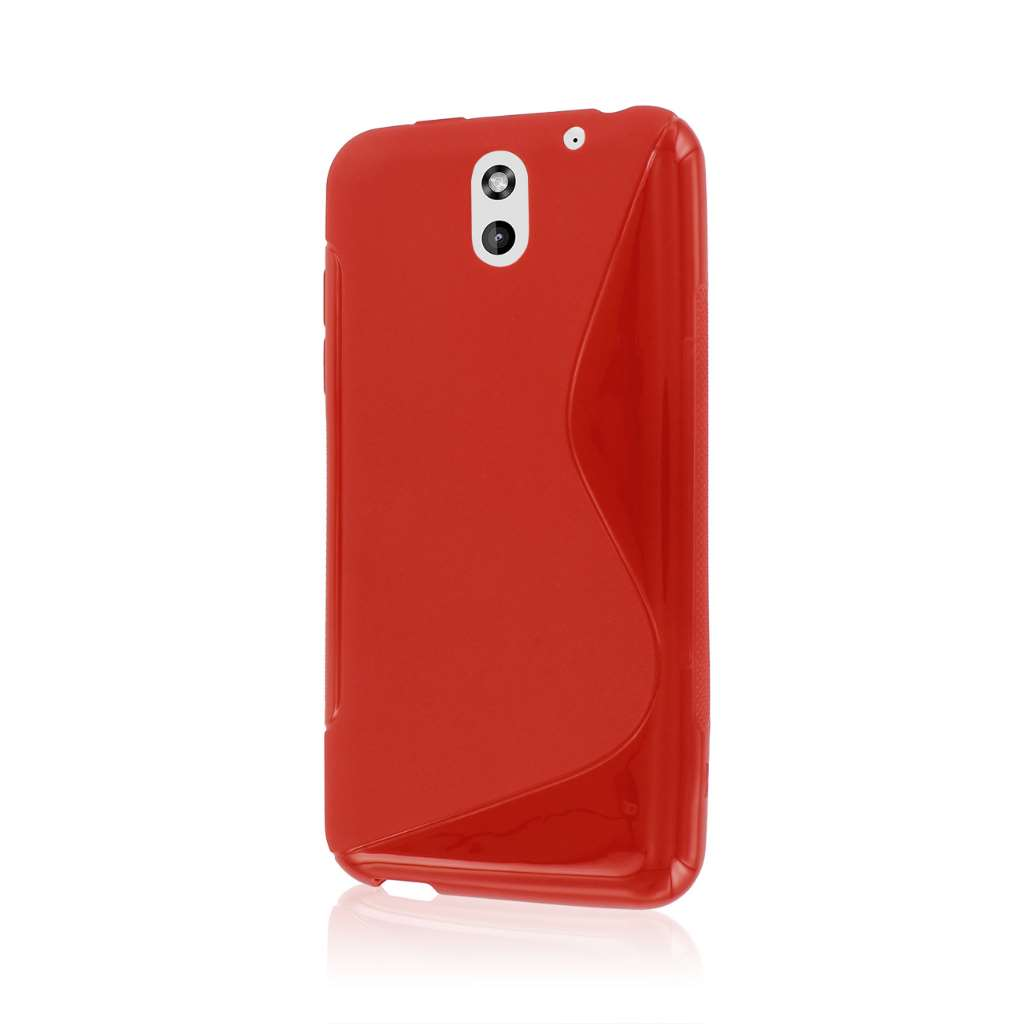 HTC Desire 610 - Red MPERO FLEX S - Protective Case Cover