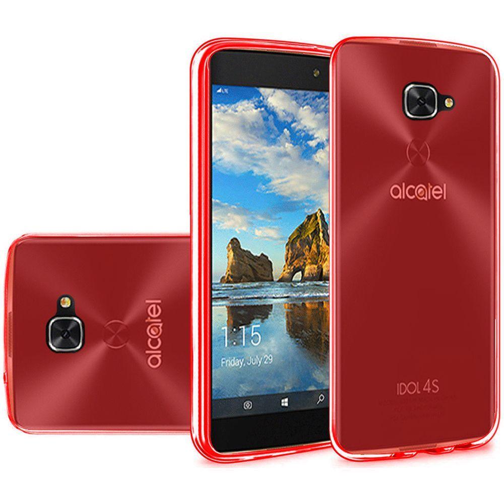 For Alcatel Idol 4S TPU Rubber Flexible Phone Skin Case ...