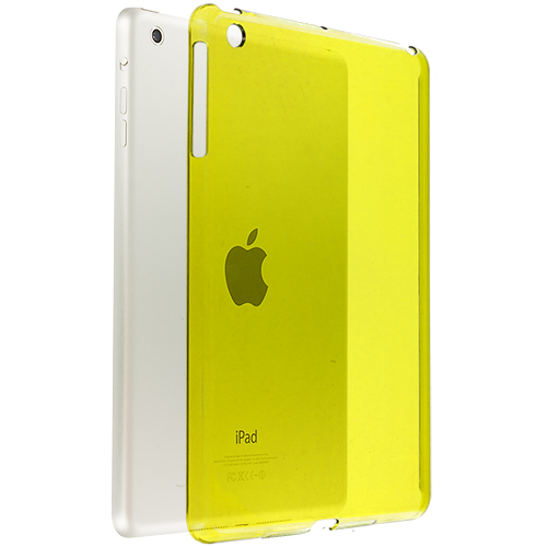 Apple iPad Mini Yellow Crystal Hard Back Cover Case