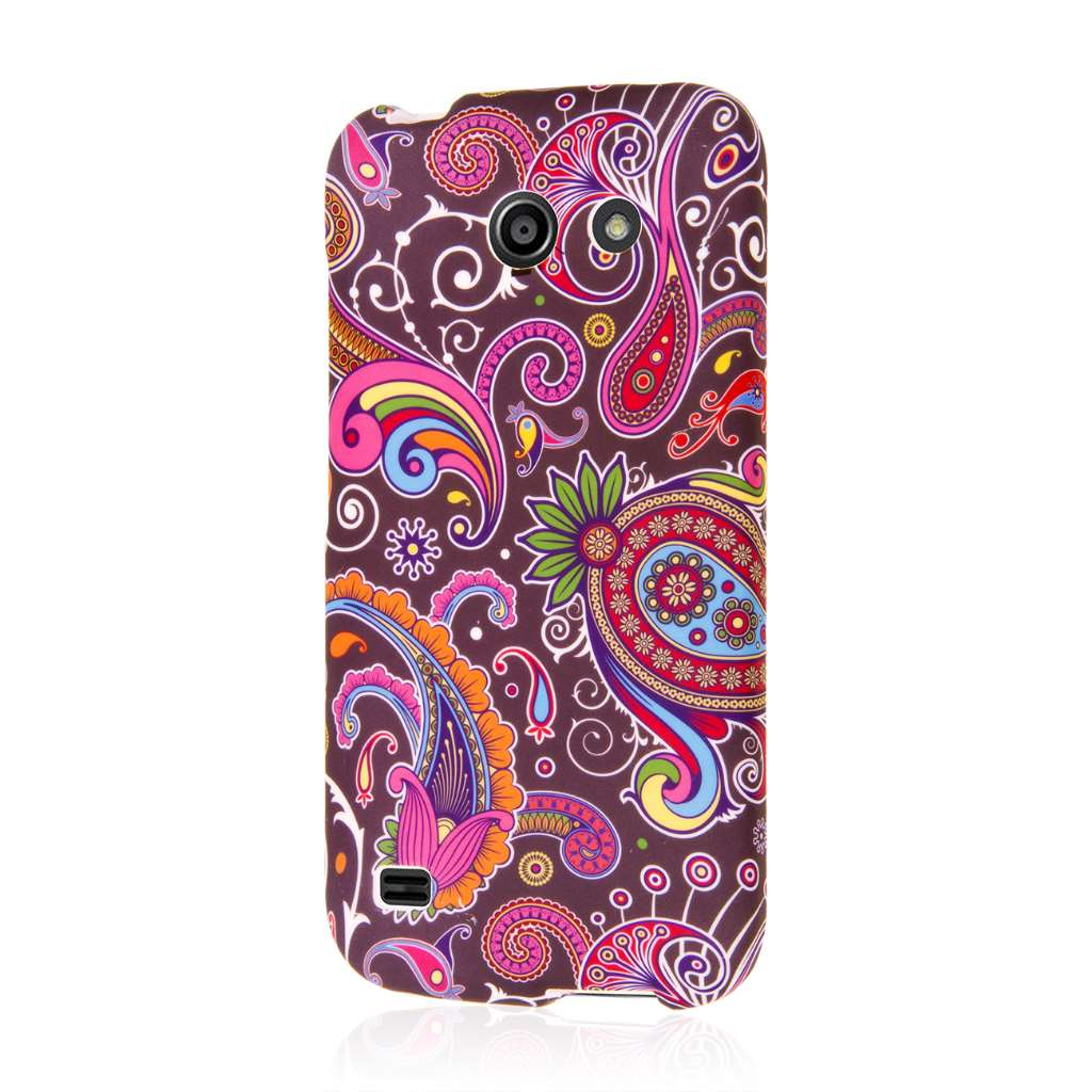 Huawei Tribute 4G LTE - Black Paisley MPERO SNAPZ - Case Cover
