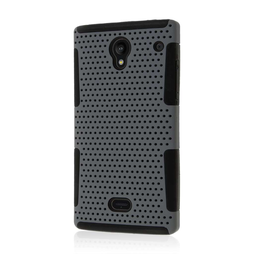 Sharp AQUOS Crystal - Gray MPERO FUSION M - Protective Case Cover