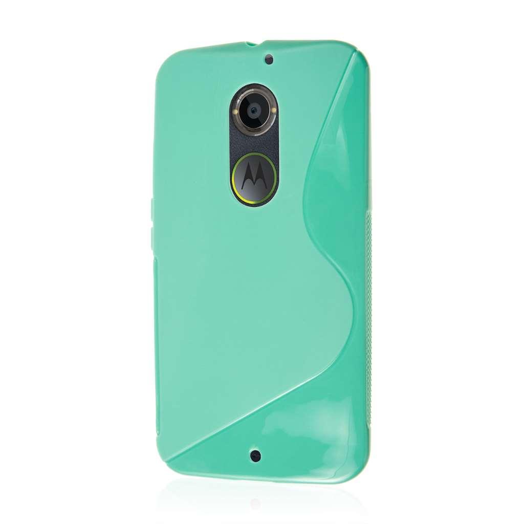 Motorola Moto X 2014 2nd Gen - Mint Green MPERO FLEX S - Protective Case