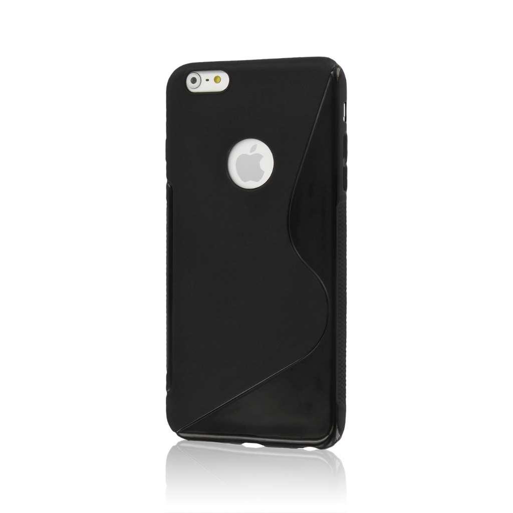 Apple iPhone 6 6S Plus - Black MPERO FLEX S - Protective Case Cover