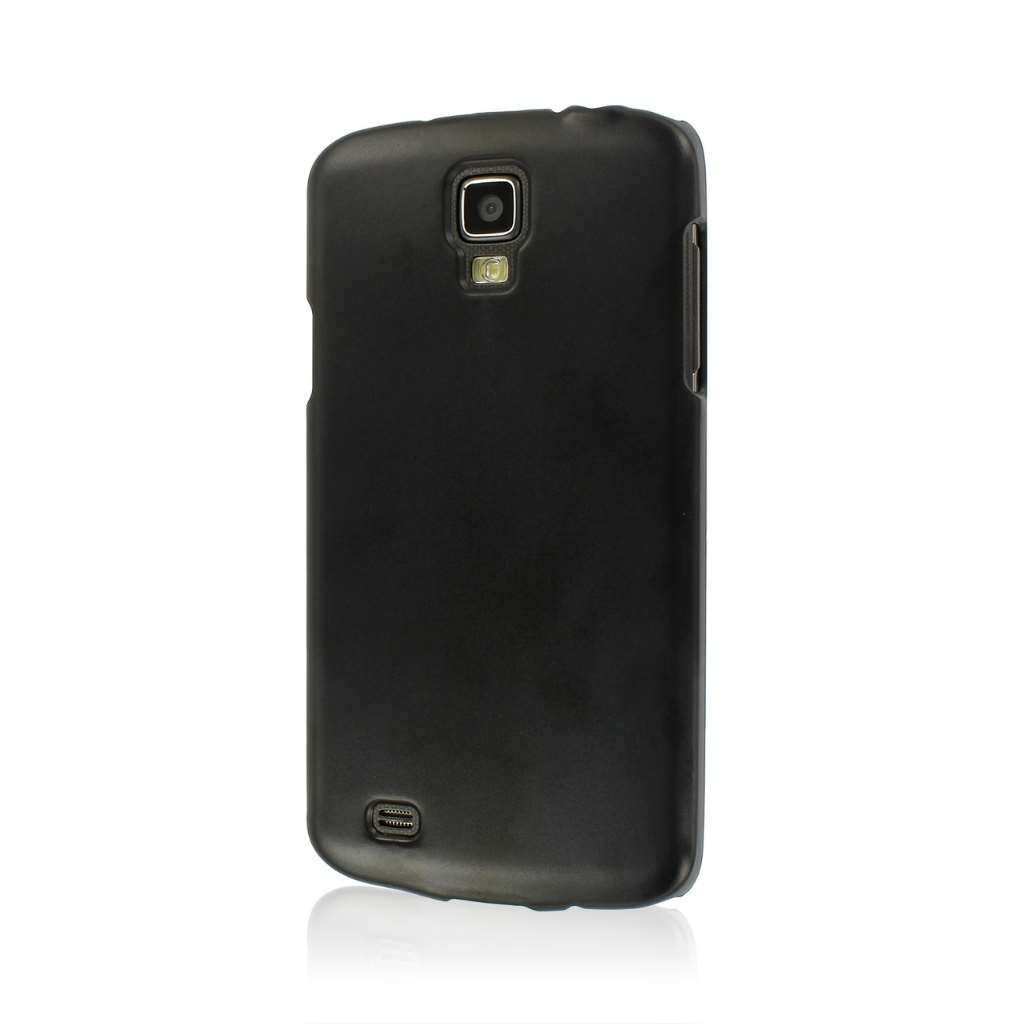 Samsung Galaxy S4 Active MPERO Slim Fit Hard Case Cover Black Matte