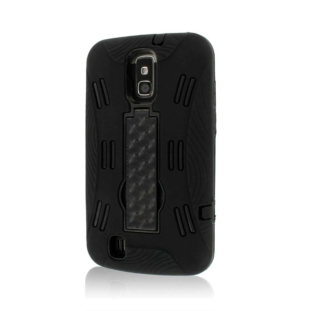 ZTE Force N9100 - Black MPERO IMPACT XL - Kickstand Case Cover