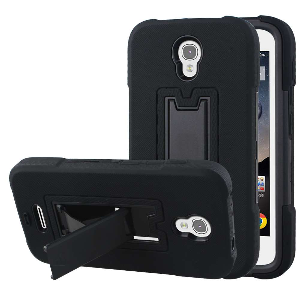 Alcatel OneTouch POP Astro - Black MPERO IMPACT XS - Kickstand Case Cover