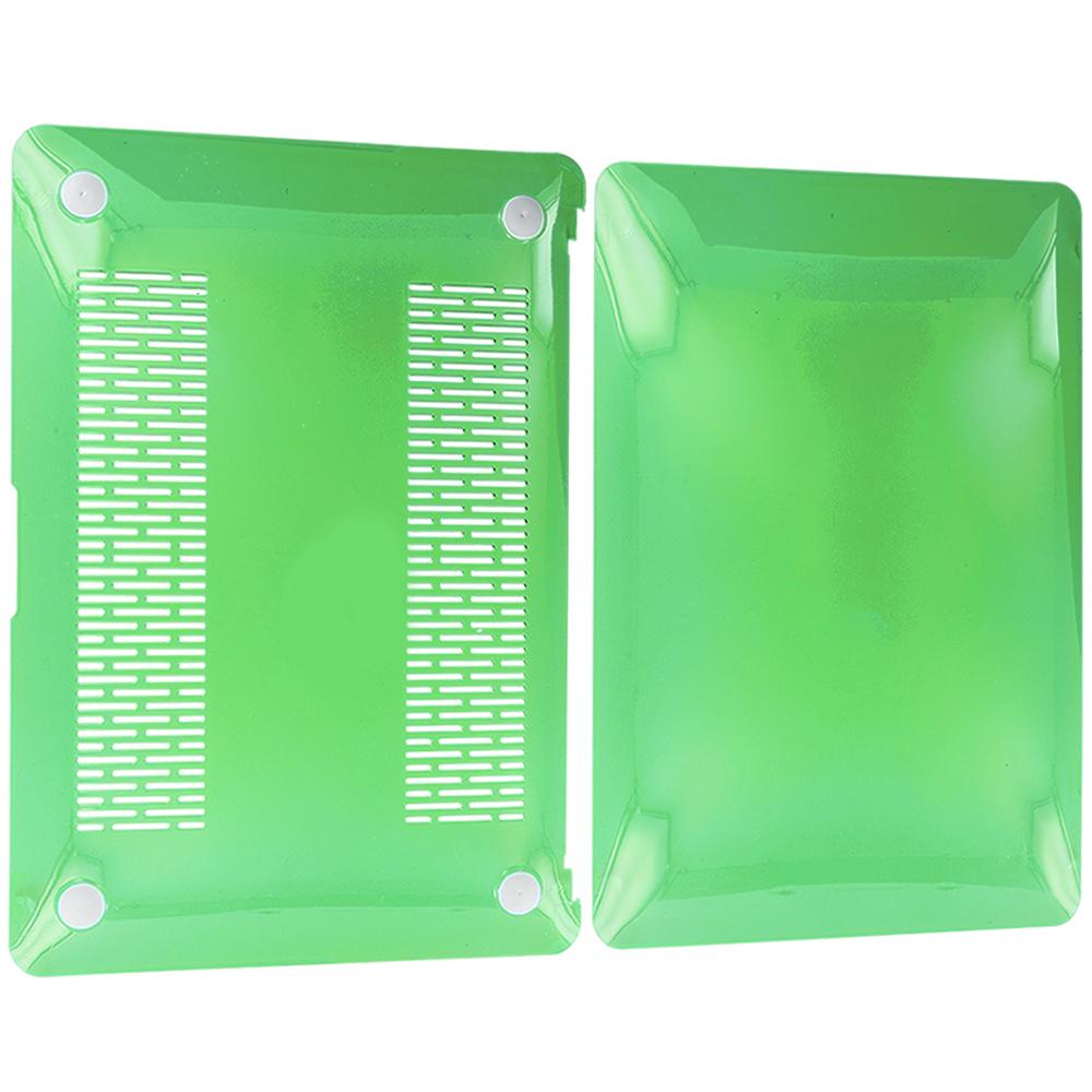 Apple Macbook Pro 13 Green Crystal Transparent Hard Case Cover