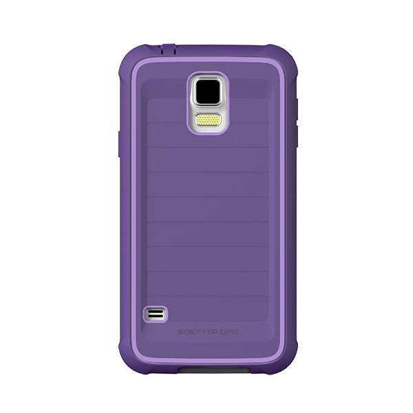 Galaxy S5 - Purple/Purple BodyGlove ShockSuit Case Cover