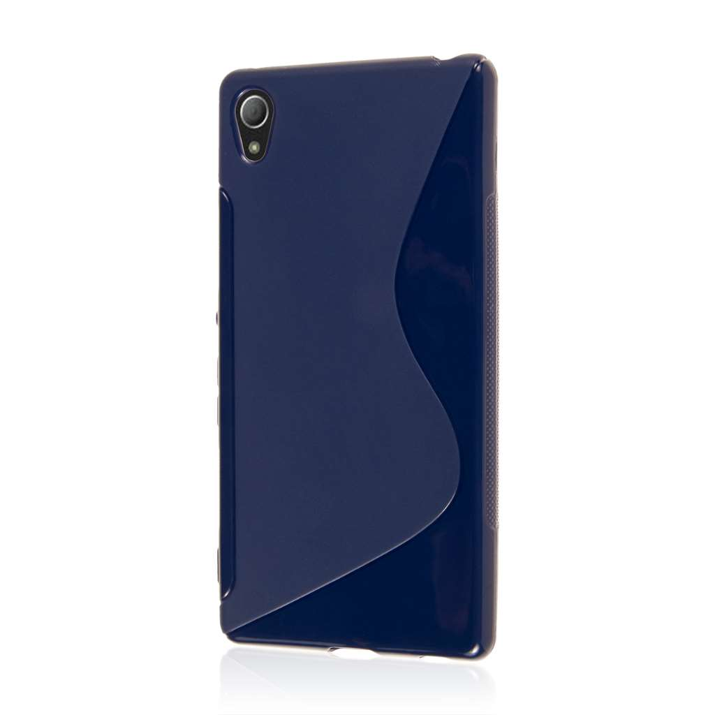 Sony Xperia Z4 - Navy Blue MPERO FLEX S - Protective Case Cover