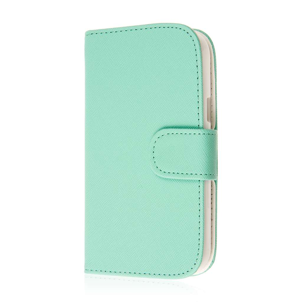 ZTE Grand S Pro - Mint MPERO FLEX FLIP Wallet Case Cover