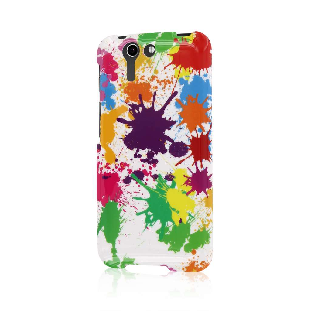 ASUS PadFone X - White Paint Splatter MPERO SNAPZ - Case Cover