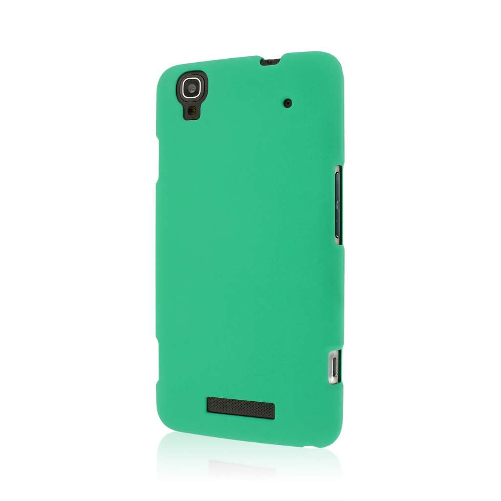 ZTE Boost Max - Mint Green MPERO SNAPZ - Rubberized Case Cover