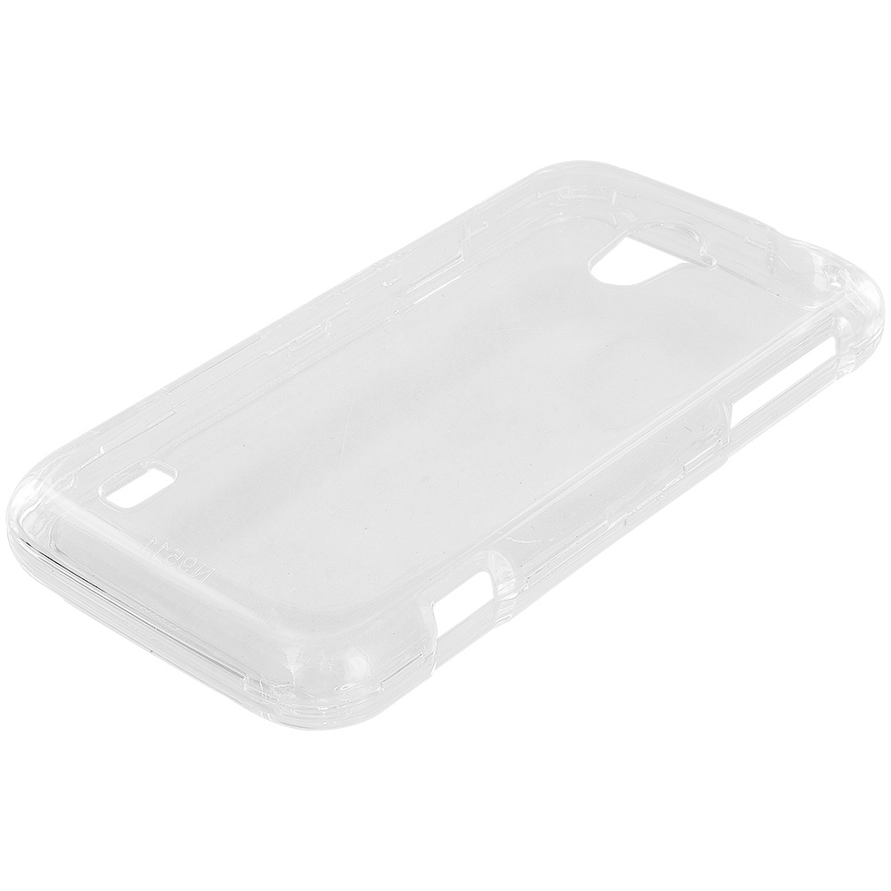 ZTE Majesty Z796C Clear Crystal Transparent Hard Case Cover
