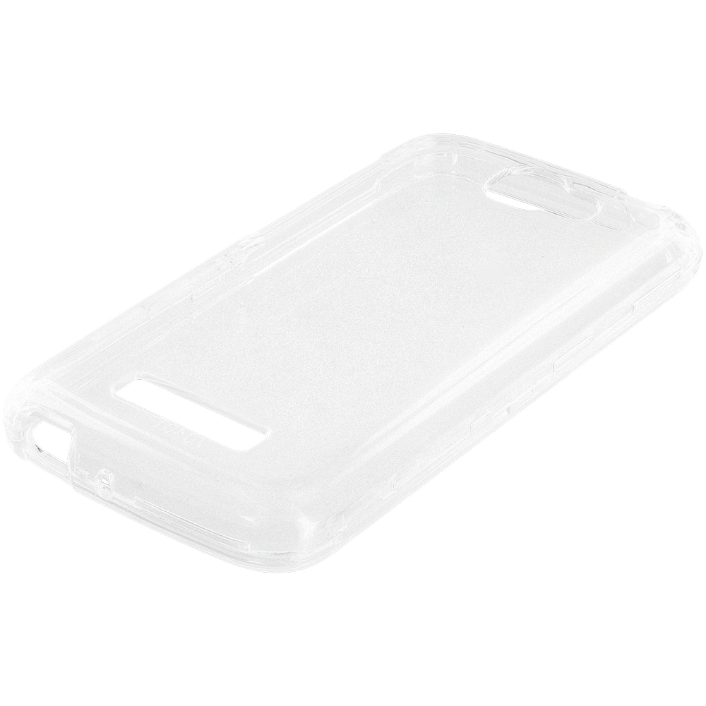 Alcatel One Touch Fierce 2 7040T Clear Crystal Transparent Hard Case Cover