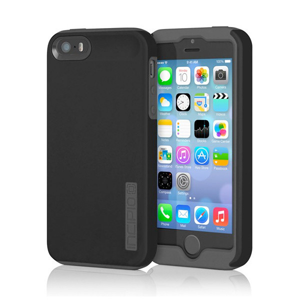 iPhone 5 - Black/Gray Incipio DualPro Case Cover