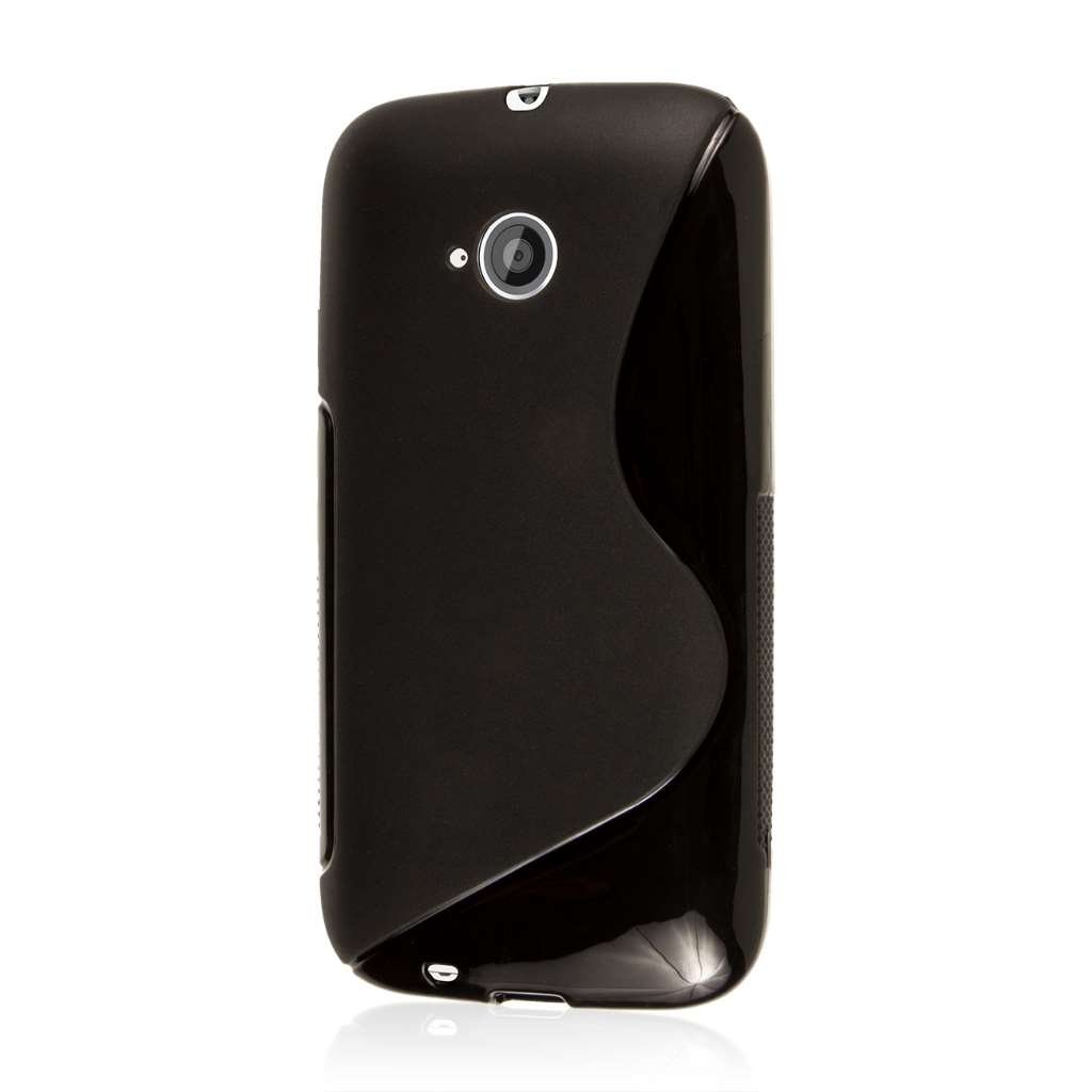 Motorola Moto E 2nd Generation - Black MPERO FLEX S - Protective Case Cover
