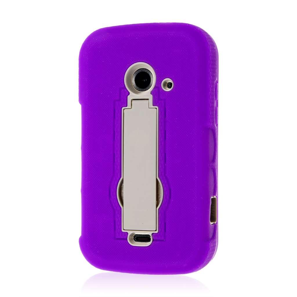 ZTE Prelude 2 - Purple MPERO IMPACT XS - Kickstand Case Cover