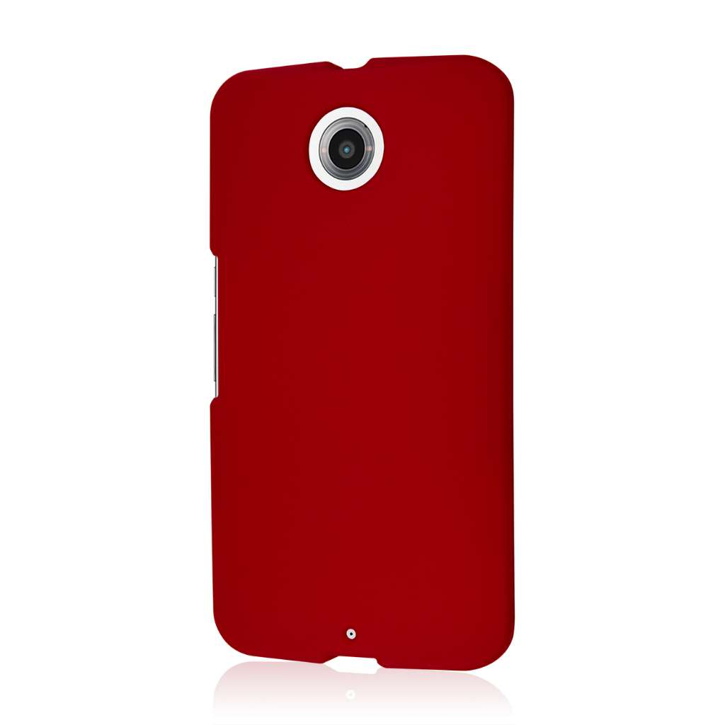 Google Nexus 6 - Burgundy MPERO SNAPZ - Case Cover