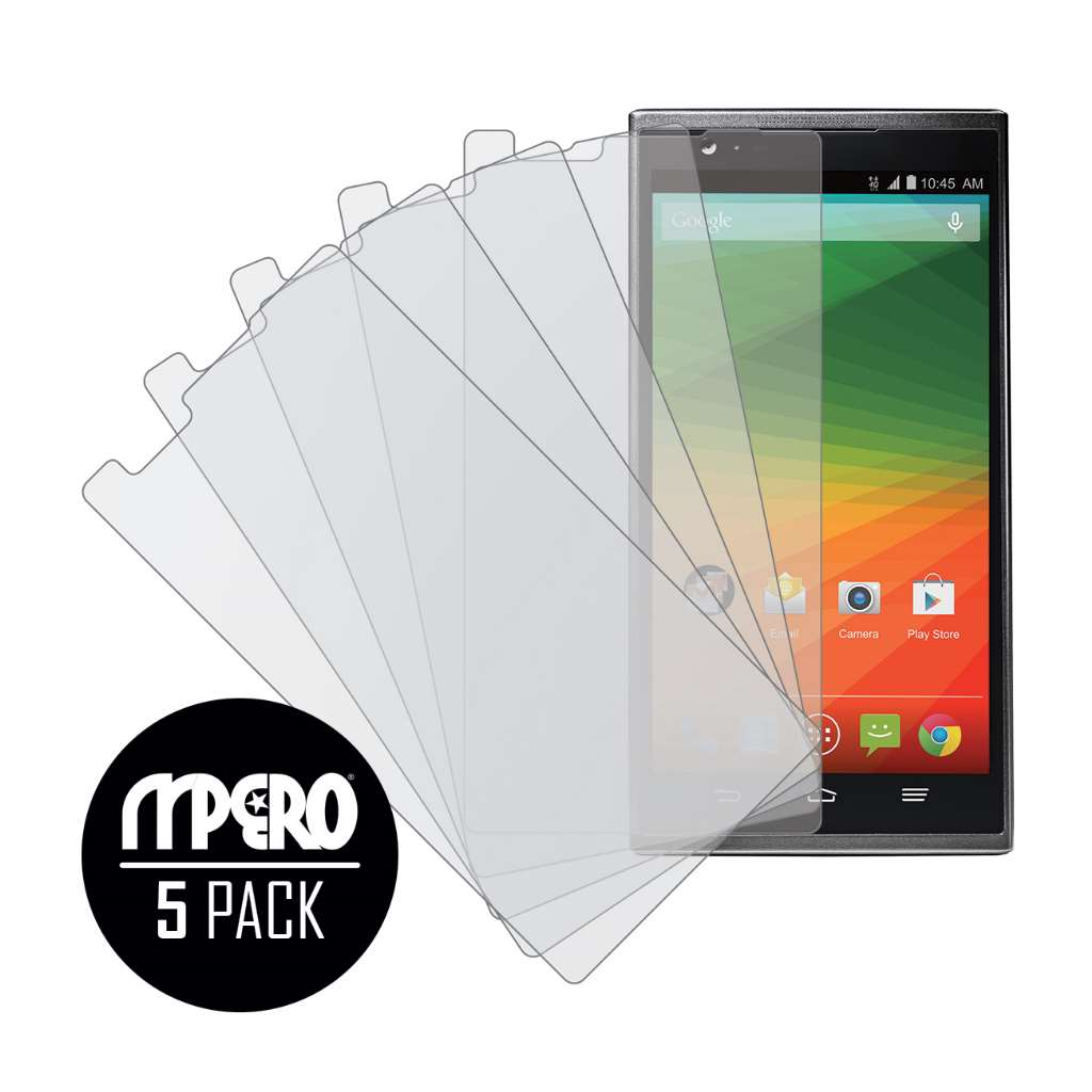 ZTE ZMAX MPERO 5 Pack of Matte Screen Protectors