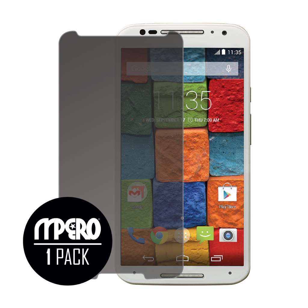 Motorola Moto X 2014 2nd Gen MPERO Privacy Screen Protector