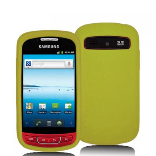 Samsung Admire R720 Yellow Silicone Soft Skin Case Cover