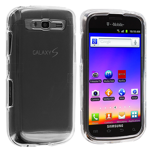 Samsung Galaxy S Blaze 4G T769 Clear Crystal Transparent Hard Case Cover