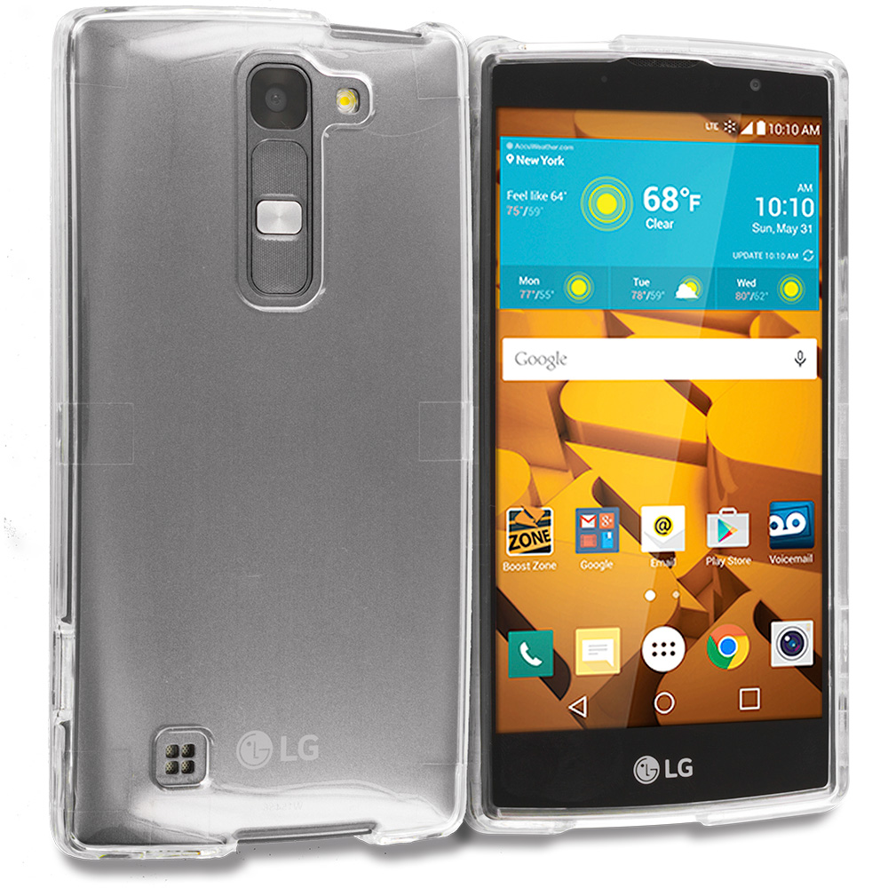 LG Volt 2 LS751 Clear Crystal Transparent Hard Case Cover