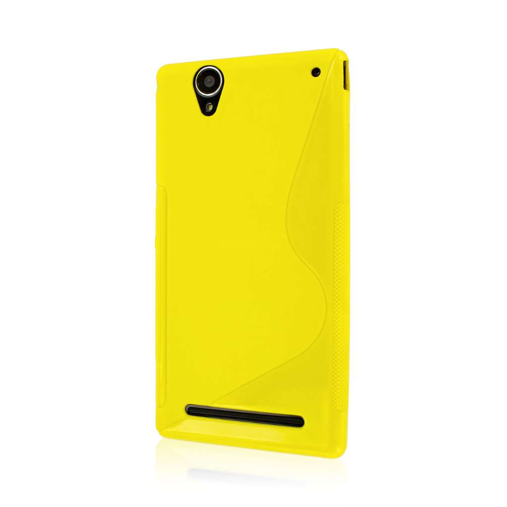 Sony Xperia T2 Ultra - Yellow MPERO FLEX S - Protective Case Cover