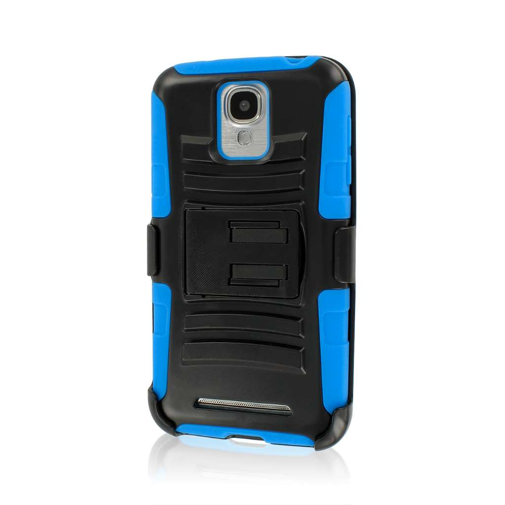 Samsung ATIV SE - Blue MPERO IMPACT XT - Stand Case Belt Clip Holster