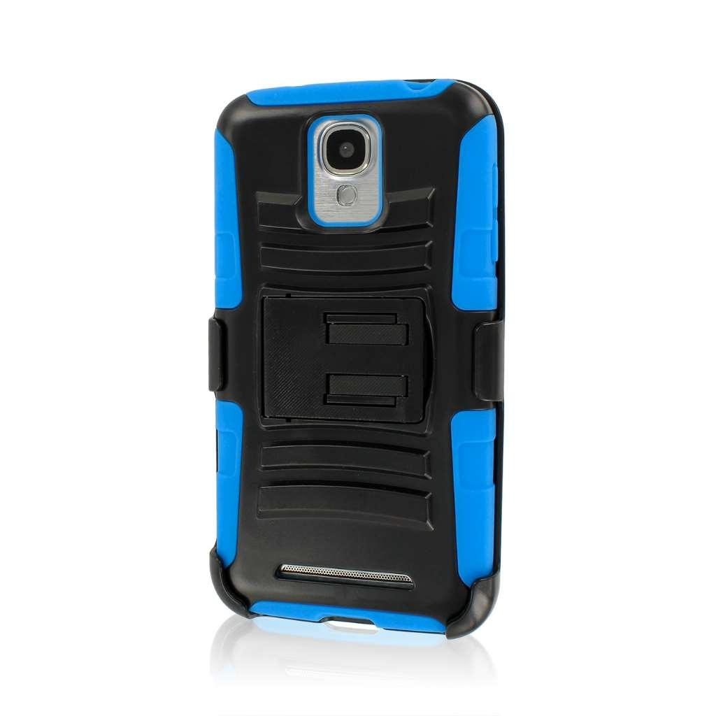 Samsung ATIV SE - Blue MPERO IMPACT XT - Stand Case Belt Clip Holster