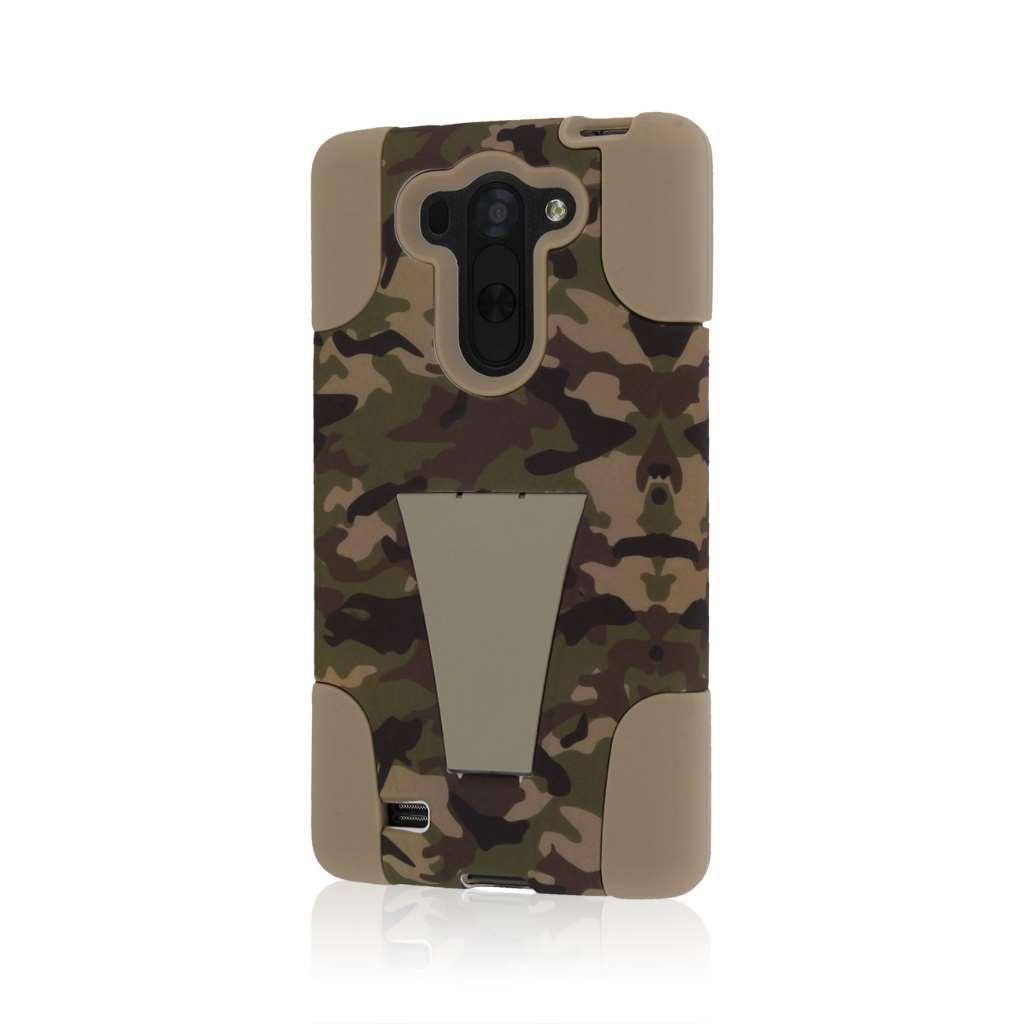 LG G Vista - Hunter Camo MPERO IMPACT X - Kickstand Case Cover