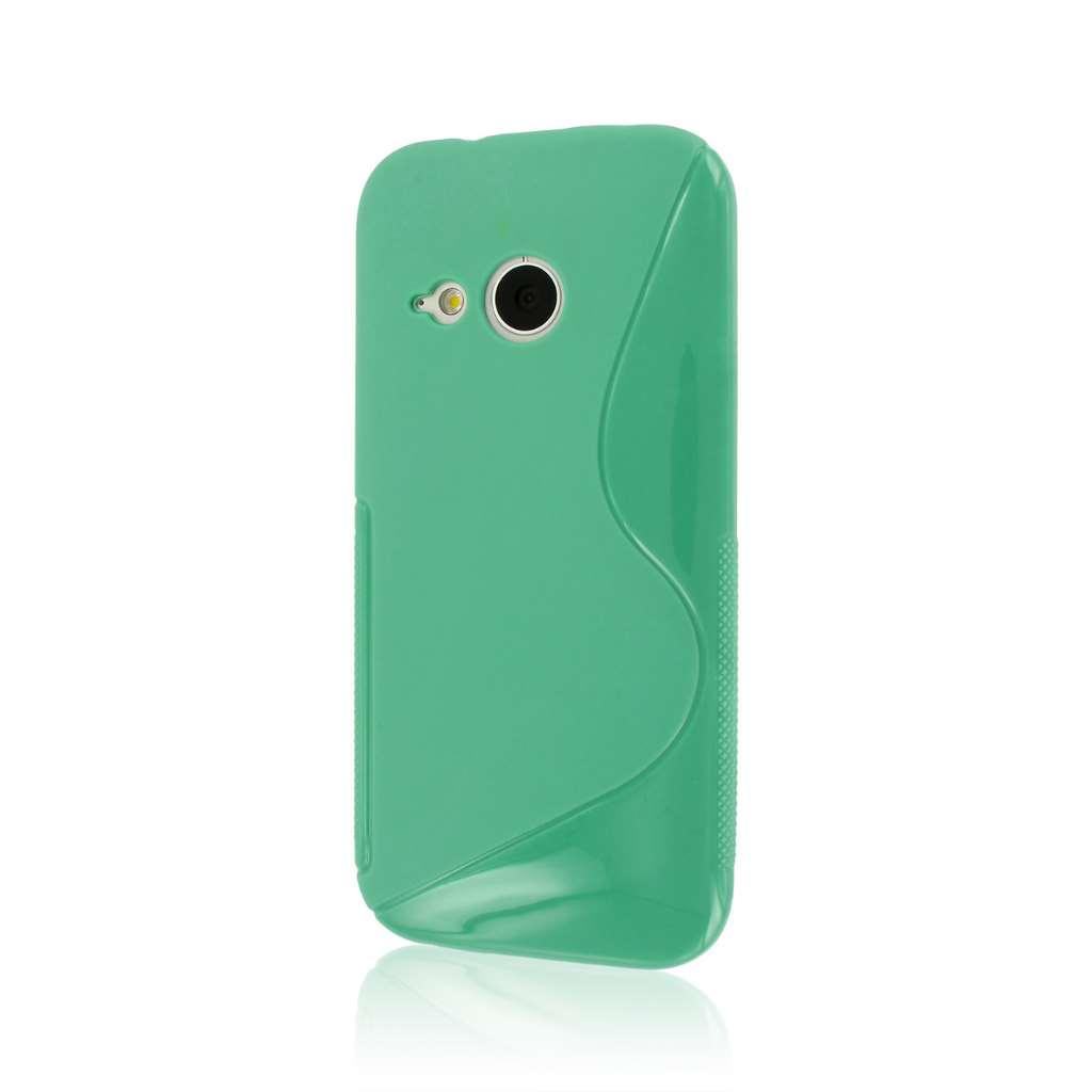 HTC One Mini 2 - Mint Green MPERO FLEX S - Protective Case Cover