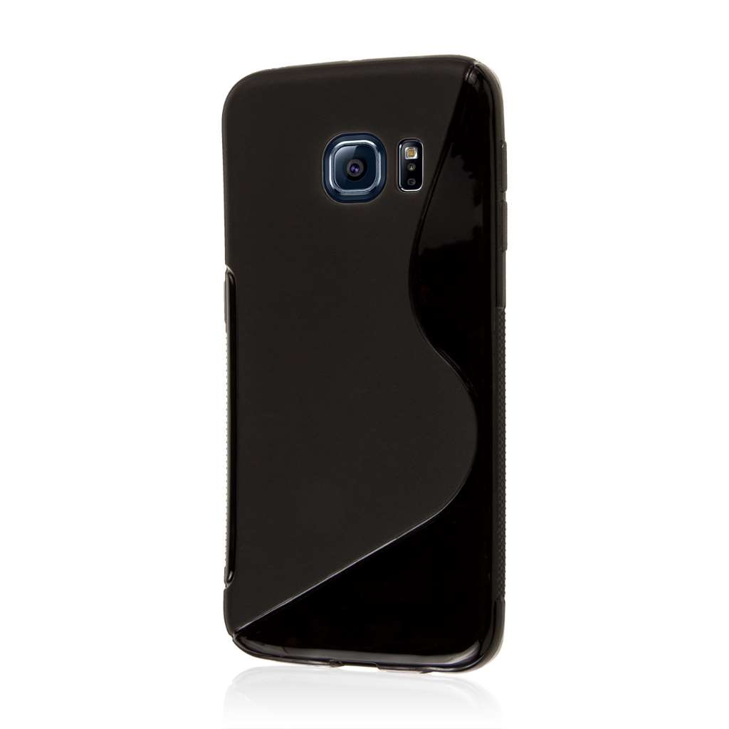 Samsung Galaxy S6 Edge - Black MPERO FLEX S - Protective Case Cover