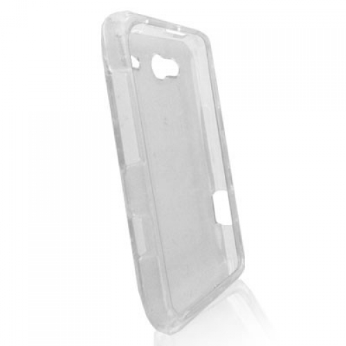 HTC Salsa Clear Crystal Transparent Hard Case Cover