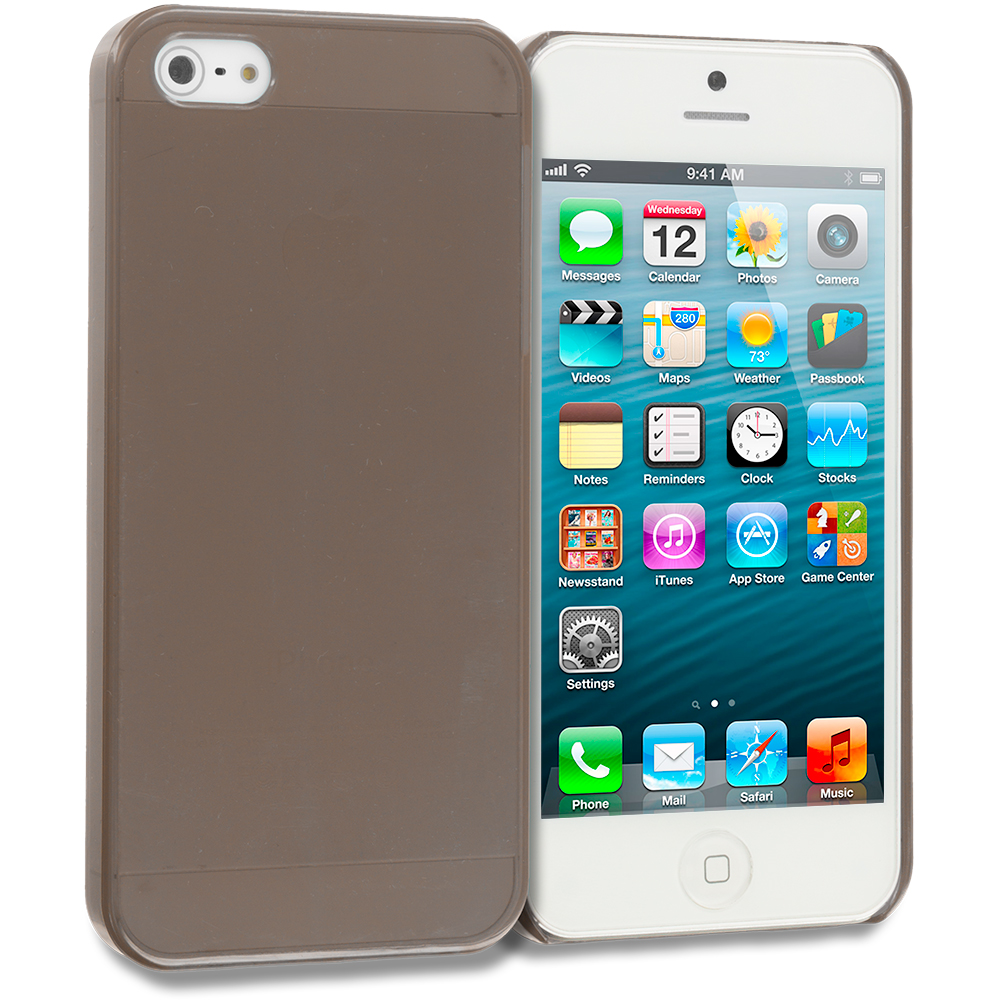 Apple iPhone 5 Smoke Crystal Hard Back Cover Case