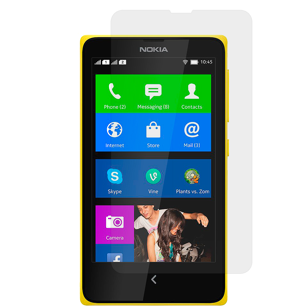 Nokia X Clear LCD Screen Protector