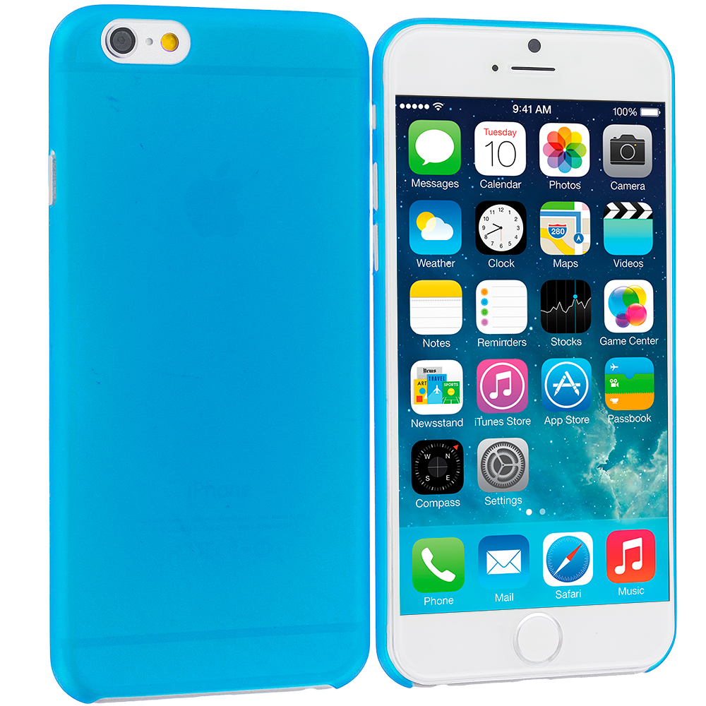 Apple iPhone 6 6S (4.7) Blue 0.3mm Super Ultra Thin Back Case Cover