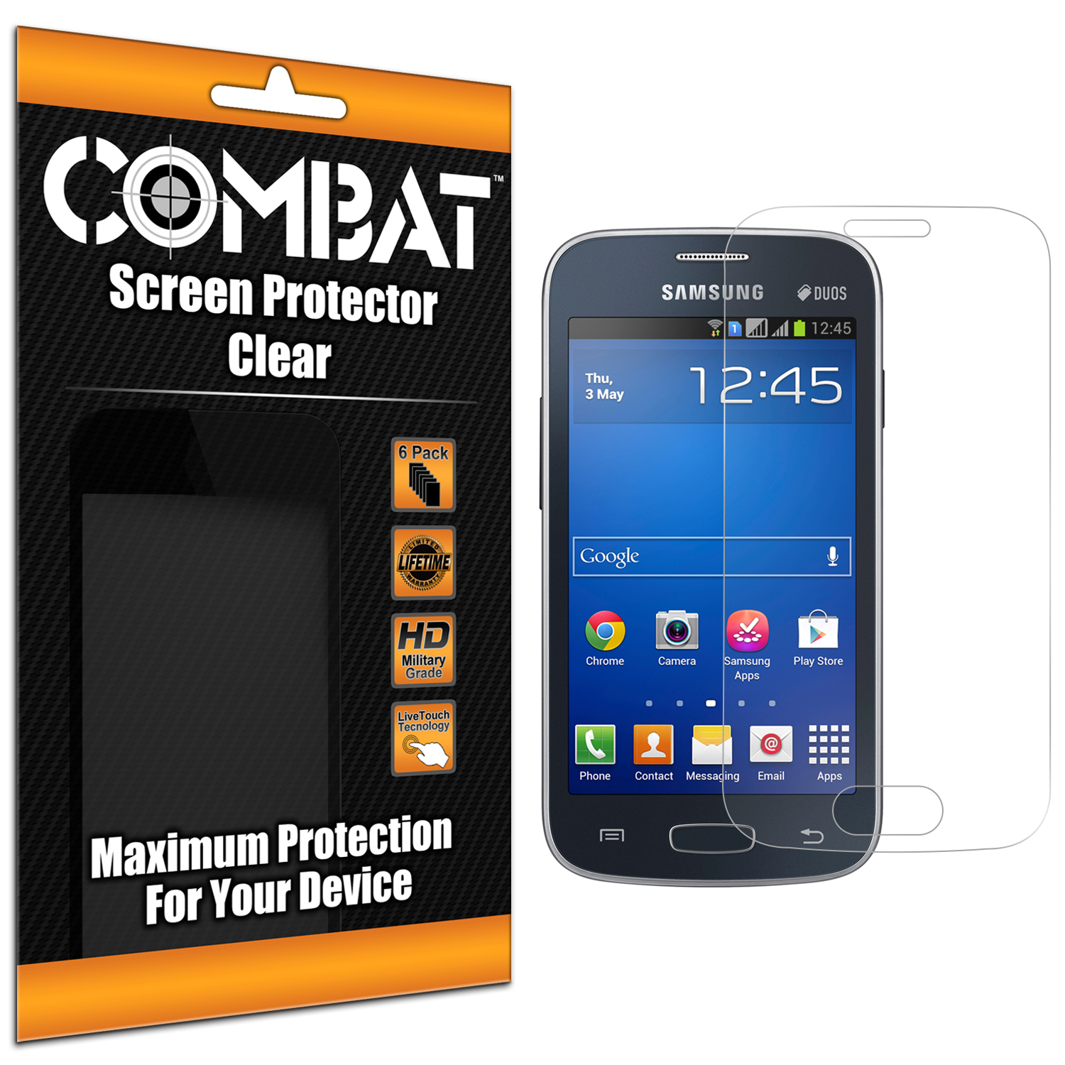 Samsung Galaxy Star 2 Combat 6 Pack HD Clear Screen Protector