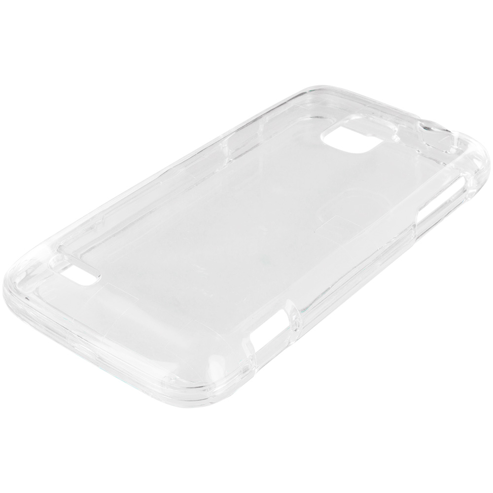 ZTE Rapido Z932C Clear Crystal Transparent Hard Case Cover