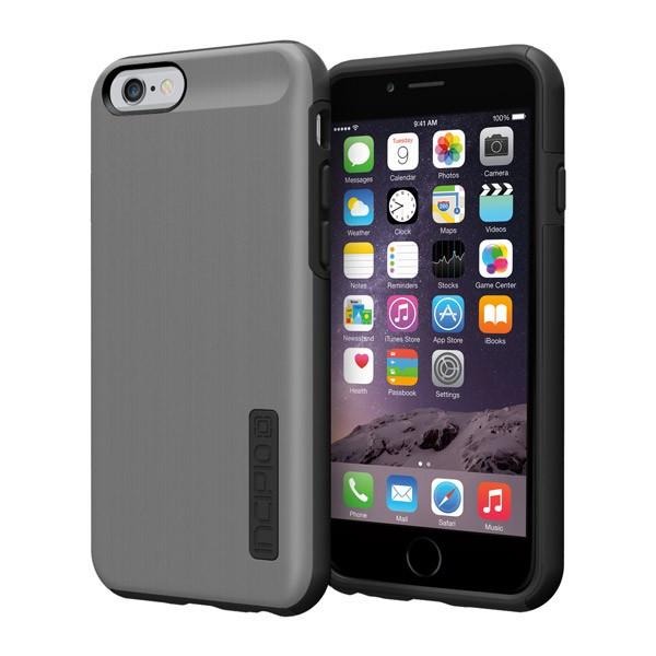 iPhone 6/6S - Gunmetal/Black Incipio DualPro Shine Case Cover