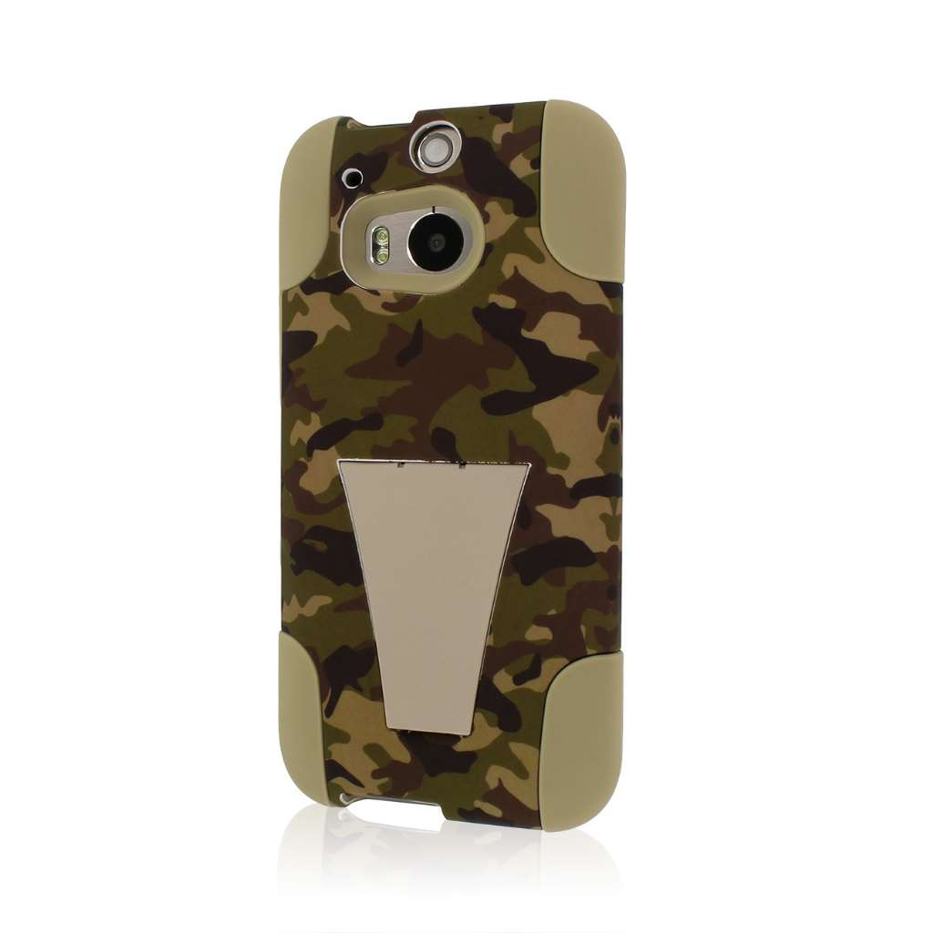 HTC One M8 - Hunter Camo MPERO IMPACT X - Kickstand Case Cover